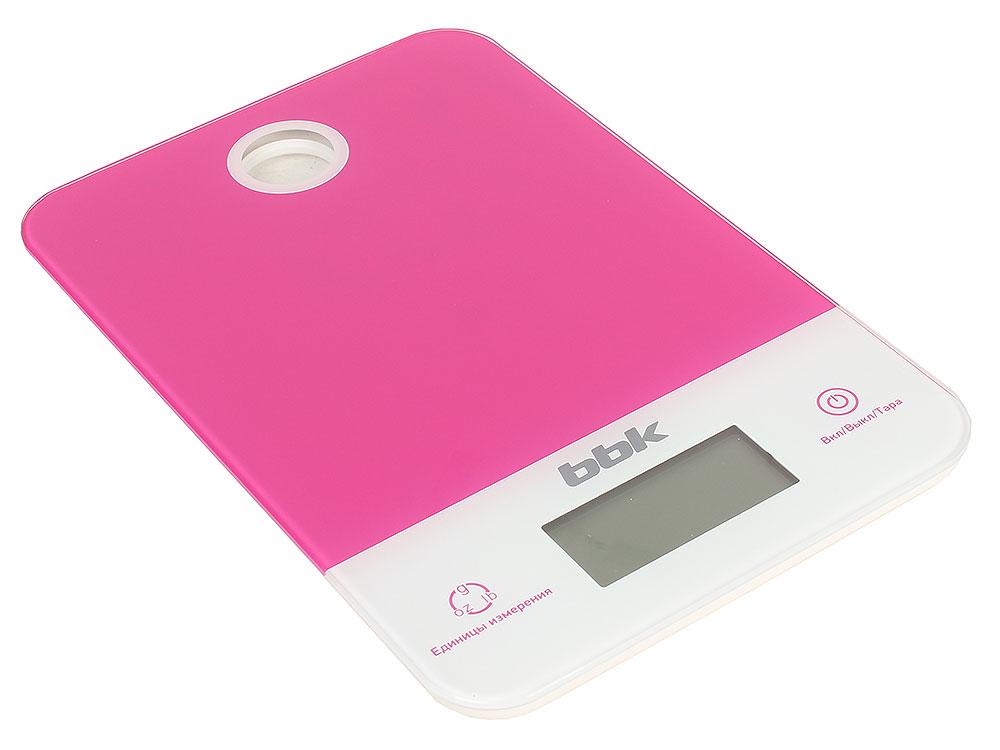 Электронные кухонные весы BBK KS109G бургунди (красный) кухонные электронные весы changdi t vks303