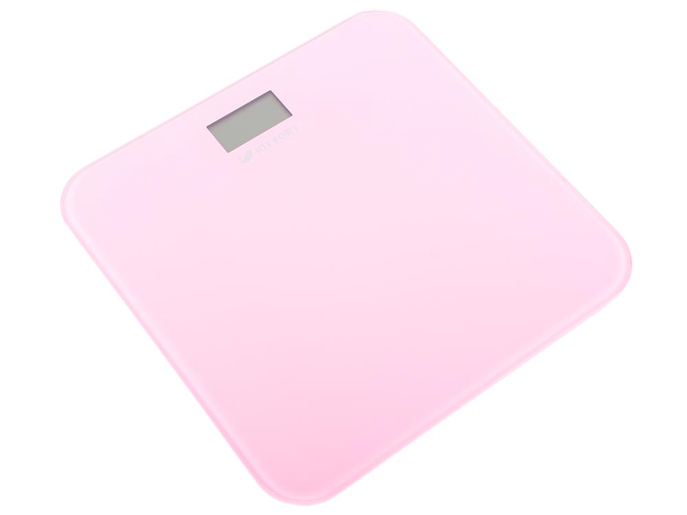 Весы напольные Kitfort КТ-804-2 розовые
