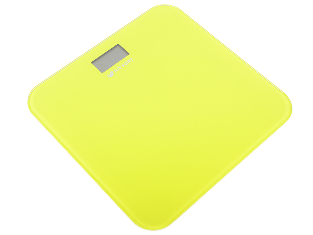 Весы напольные Kitfort КТ-804-4 жёлтые цена