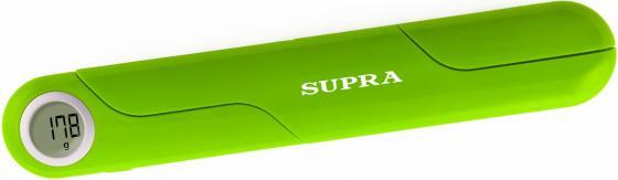 Весы кухонные электронные Supra BSS-4102 макс.вес:5кг зеленый