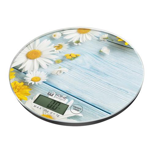 Весы кухонные Home Element HE-SC933 летние цветы весы кухонные home element he sc933 рисунок