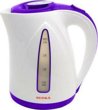 Чайник электрический SUPRA KES-2004 violet телефон supra stl 111 белый