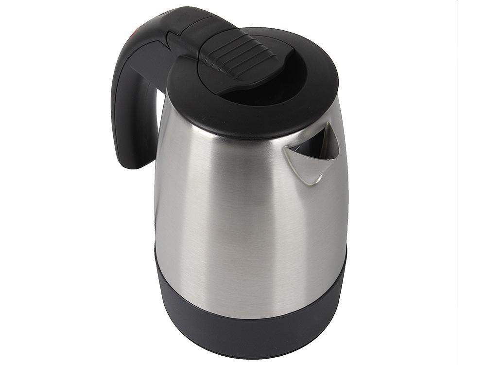 Чайник электрический VITEK VT-1154(SR)) (мет.,диск, 0,5 литра,1000Вт) (BK)