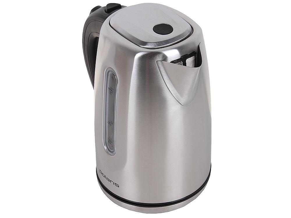 Чайник электрический POLARIS PWK 1718CAL мощность — 2200Вт; объем — 1.7л; корпус — нержавеющая сталь; фильтр от накипи, подсветка воды; блокировка кры