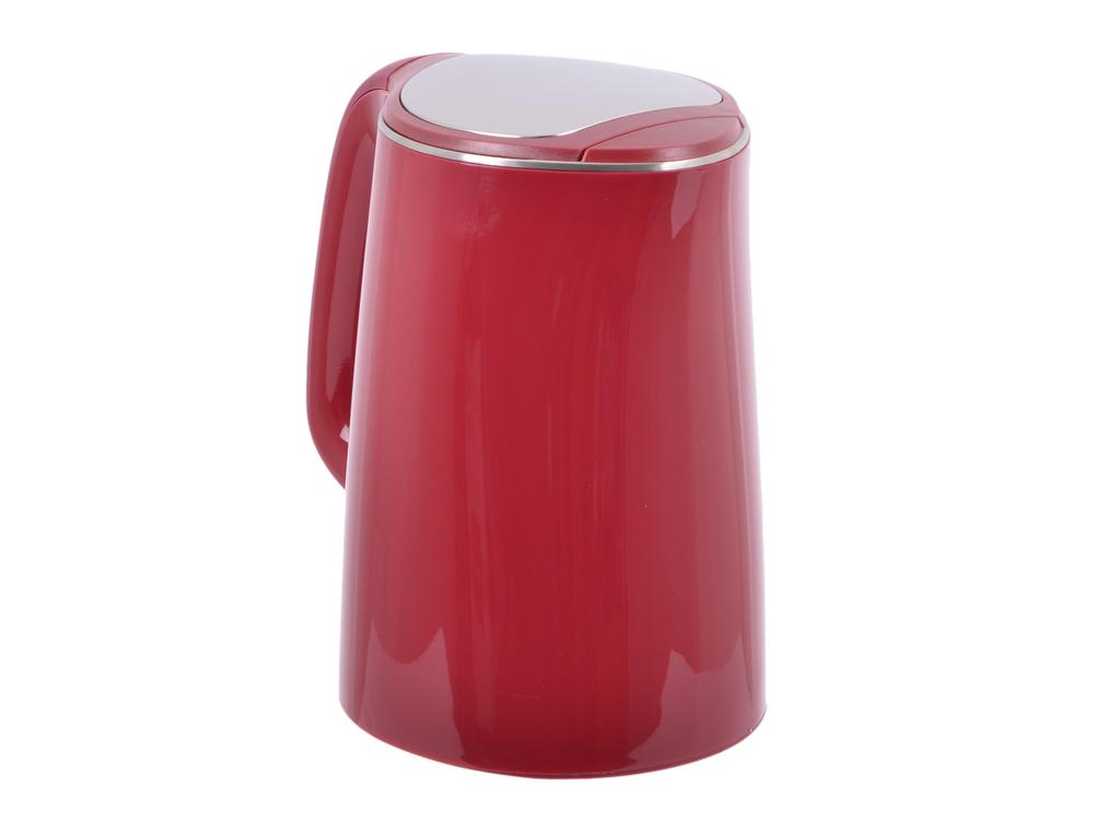 Чайник электрический MARTA MT-1065 бургунди мультиварка marta mt 4314 темный агат