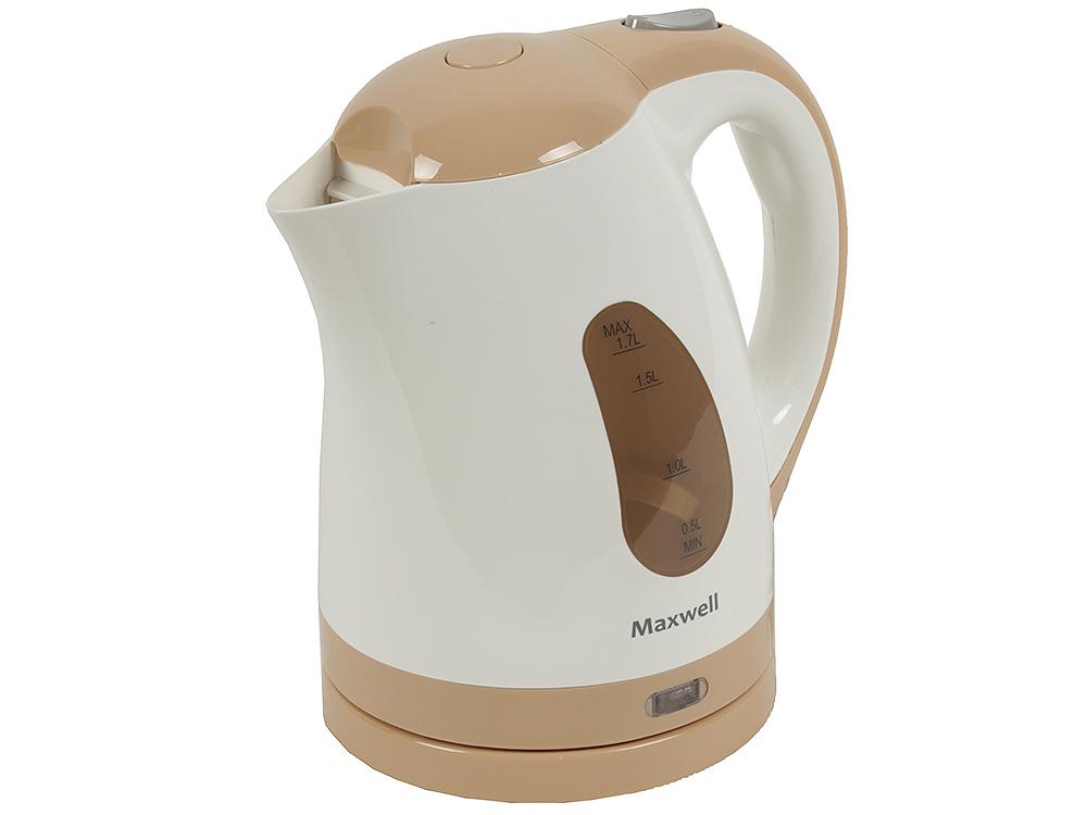 Чайник электрический Maxwell MW-1014 бежевый