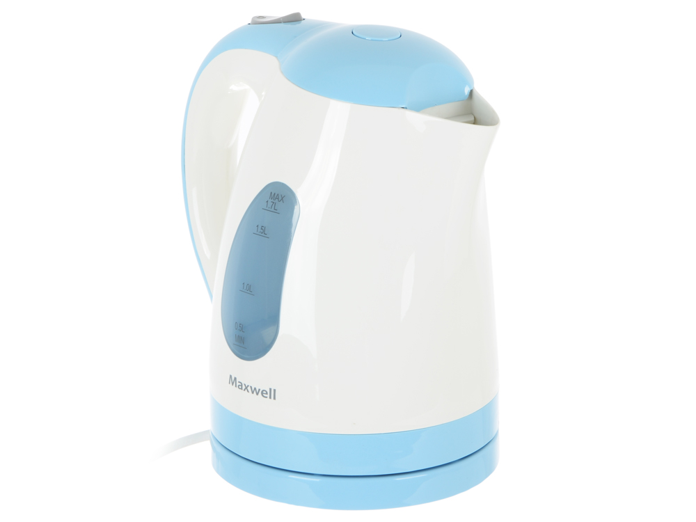 Чайник электрический Maxwell MW-1014 голубой