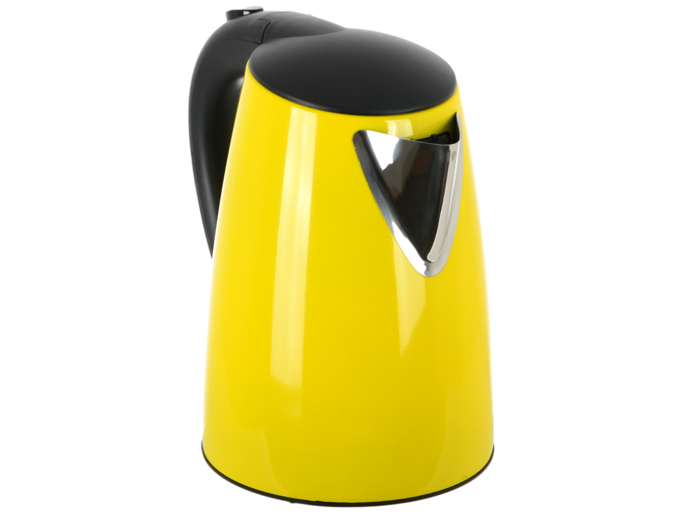 цена на Чайник BBK EK1705S, 2200Вт, 1.7л, сталь, желтый