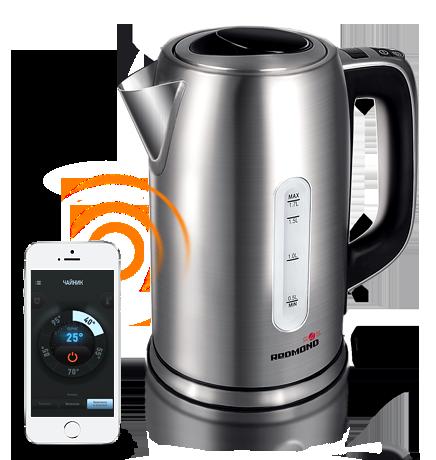 Чайник электрический Redmond RK-M171S (Металл) кофеварка redmond rcm 1505 s skycoffee
