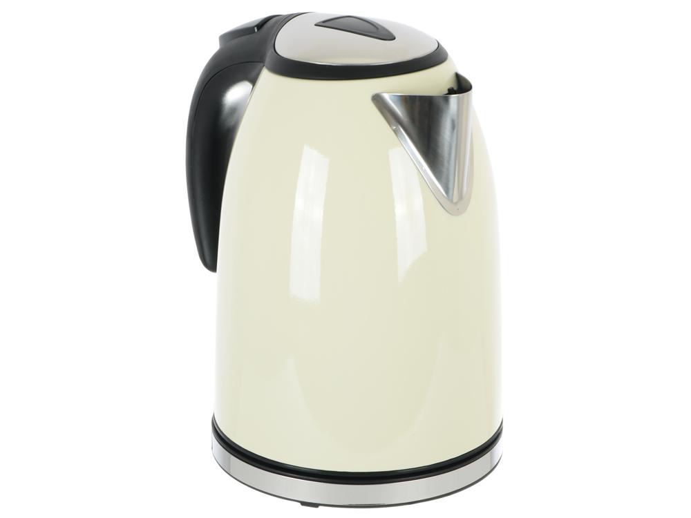 Чайник Vitek VT-1182 (CM), 2200Вт, 1.7л, белый