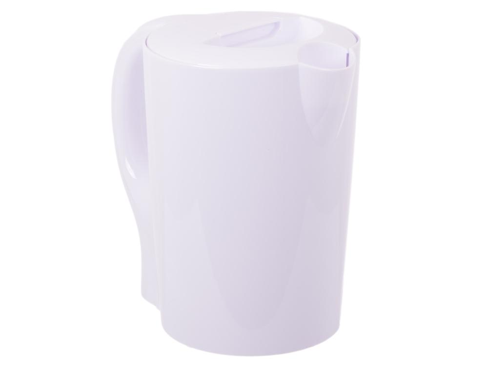 Чайник Smile WK 5111, 2200Вт, 1.7л, пластик, белый чайник электрический smile wk 5111 бел