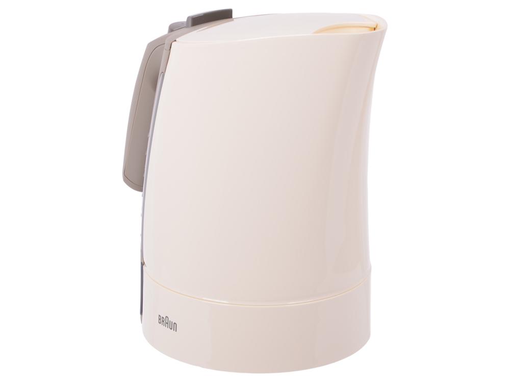 Чайник электрический Braun WK300 Cream германия braun braun wk300 чайник питт zander выборочная красный 1 7 л кипящей чайник для кипячения воды чайник анти ошпарить