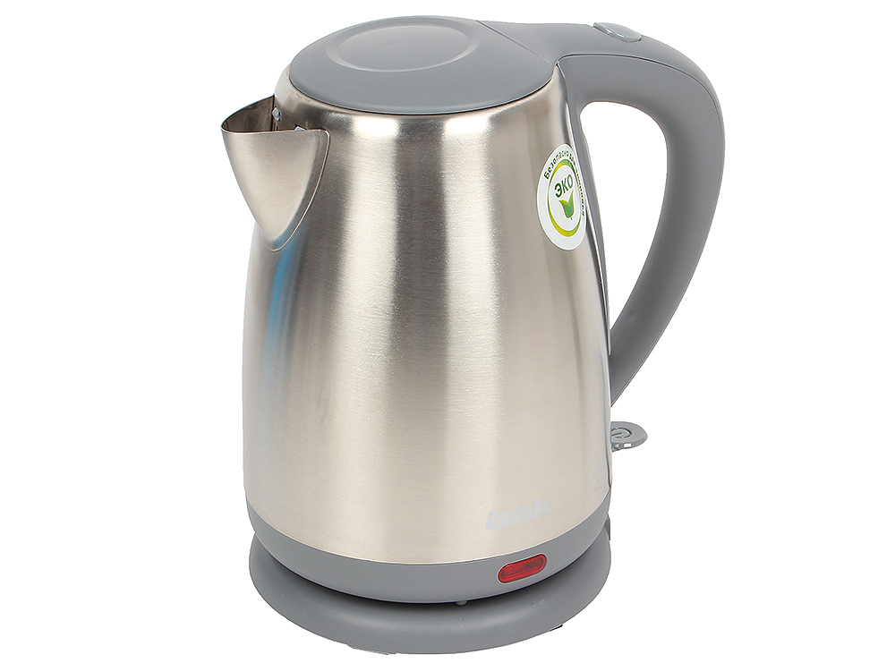Чайник электрический BBK EK1706S нерж. сталь/серый
