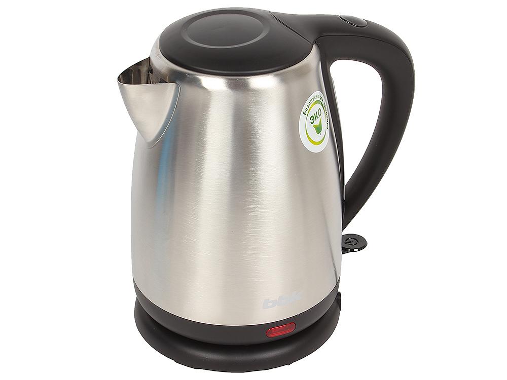 Чайник электрический BBK EK1706S нерж. сталь/черный