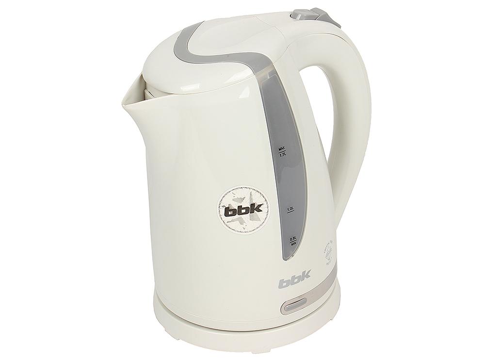 Чайник электрический BBK EK1708P белый/серебро