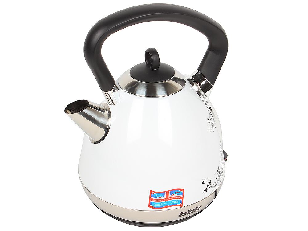 Чайник электрический BBK EK1710S белый/черный