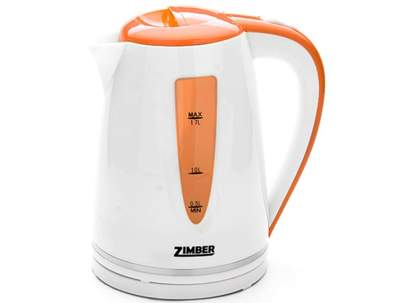 Чайник Zimber ZM-10852 2200 Вт 1.7 л пластик белый