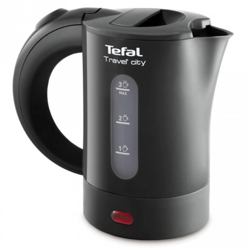 Чайник Tefal KO120B30 650 Вт 0.4 л пластик серый цена и фото