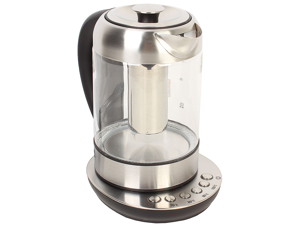 Чайник электрический BBK EK1740GD нержавеющая сталь/черный