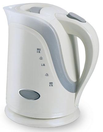 Чайник VES Electric 1017 2200 Вт 2 л пластик белый пылесос ves electric