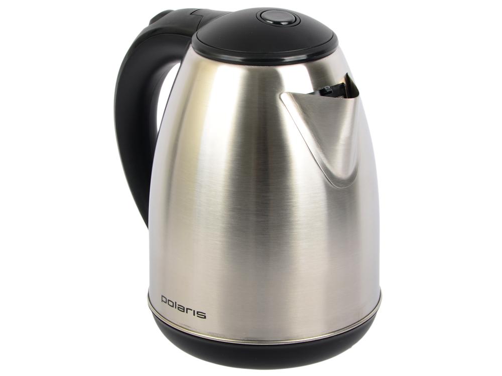 Чайник Polaris PWK 1745CA 1800 Вт 1.7 л металл серебристый чайник polaris pwk 1765car 2200вт 1 7л металл черный серебристый