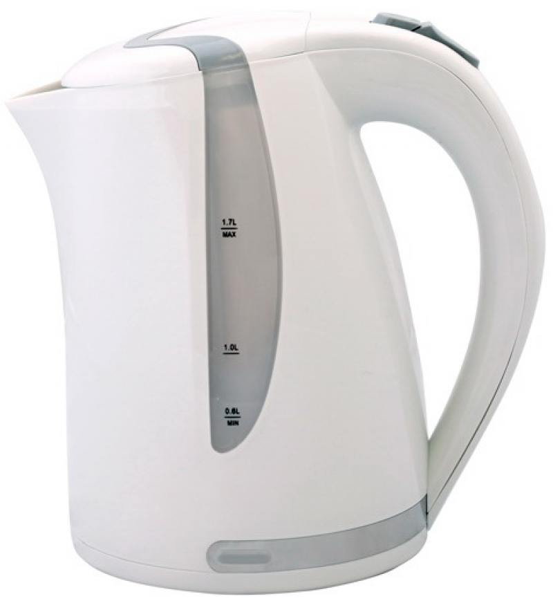 Чайник Smile WK 5118 2000 Вт 1.7 л пластик белый серый чайник smile wk5306 2000 вт 1 7 л пластик белый