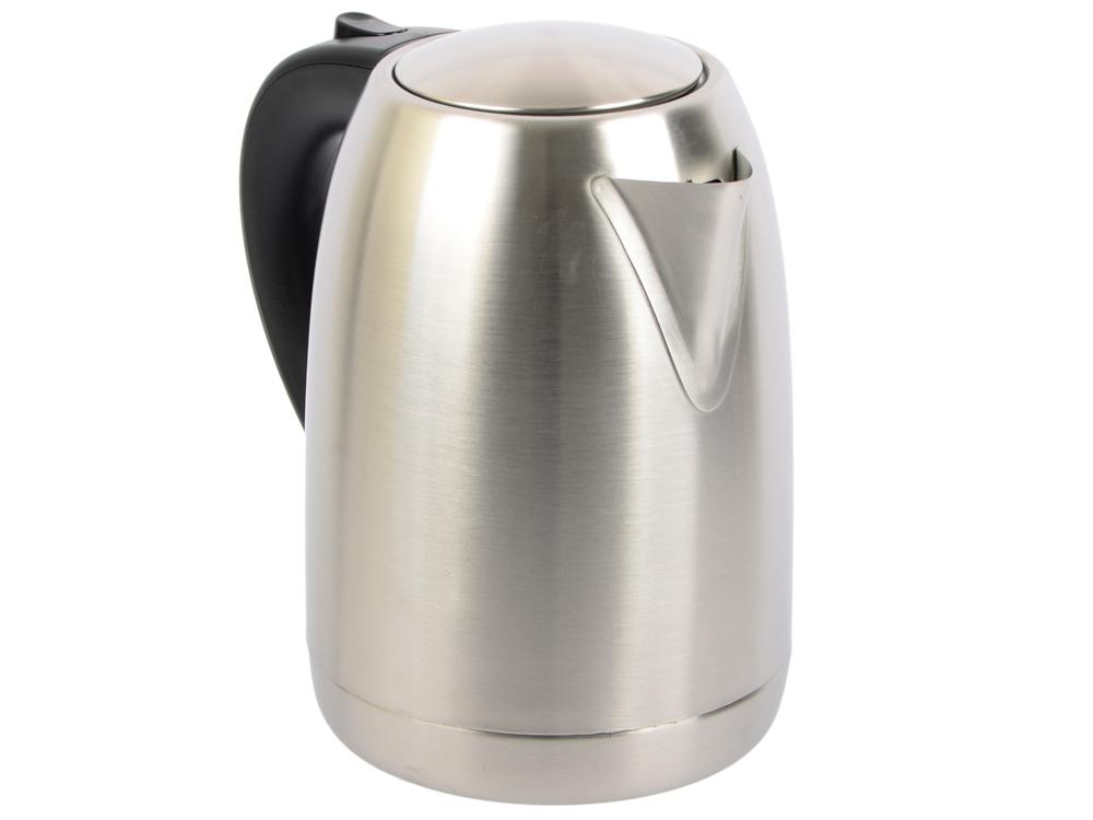 Чайник Vitek VT-7033 ST 2200 Вт 1.7 л нержавеющая сталь стальной чайник vitek vt 7021 sr 2200 вт 1 7 л нержавеющая сталь серебристый