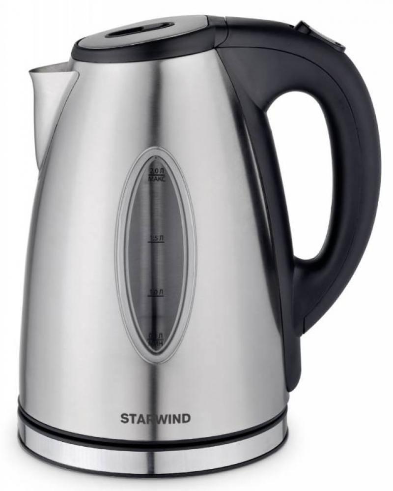 Чайник StarWind SKS4440 2200 Вт серебристый 2 л нержавеющая сталь