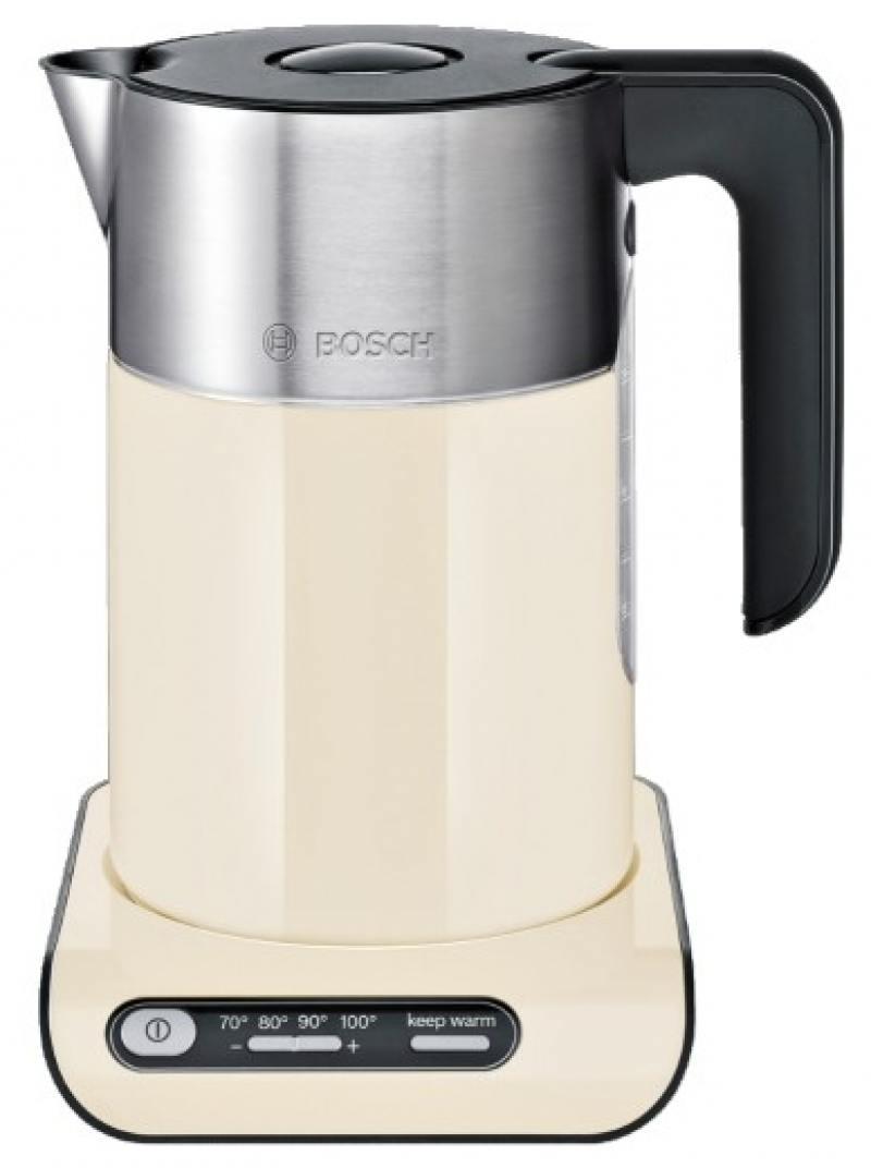 Чайник электрический Bosch TWK8617P электрический чайник bosch twk7808 золотой twk7808