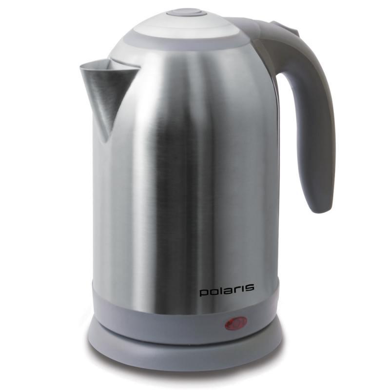 Чайник Polaris PWK 1864CA 1800 Вт 1.8 л металл серебристый обогреватель polaris pch 1024 белый