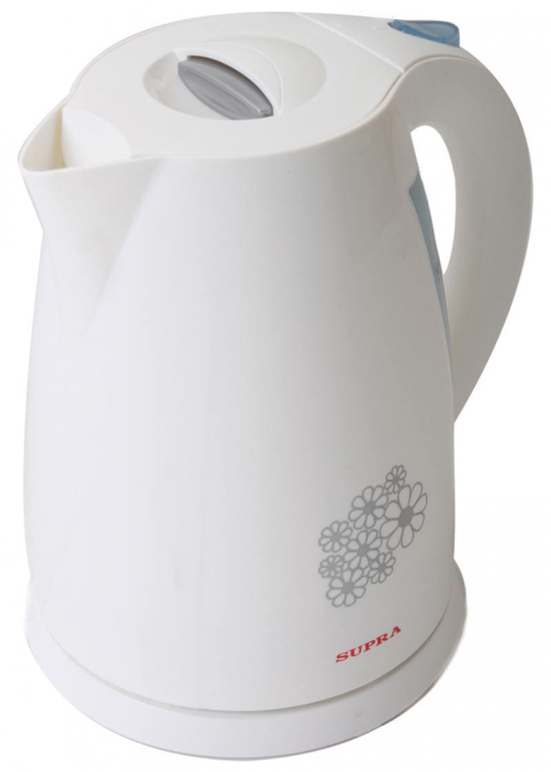 Чайник Supra KES-1705 2200 Вт 1.7 л пластик белый