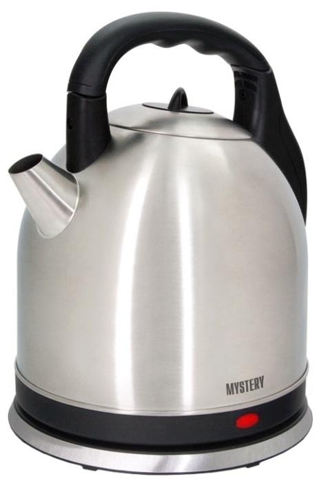 Чайник MYSTERY MEK-1635 2000 Вт 3.5 л металл серебристый электрический чайник mystery mek 1638