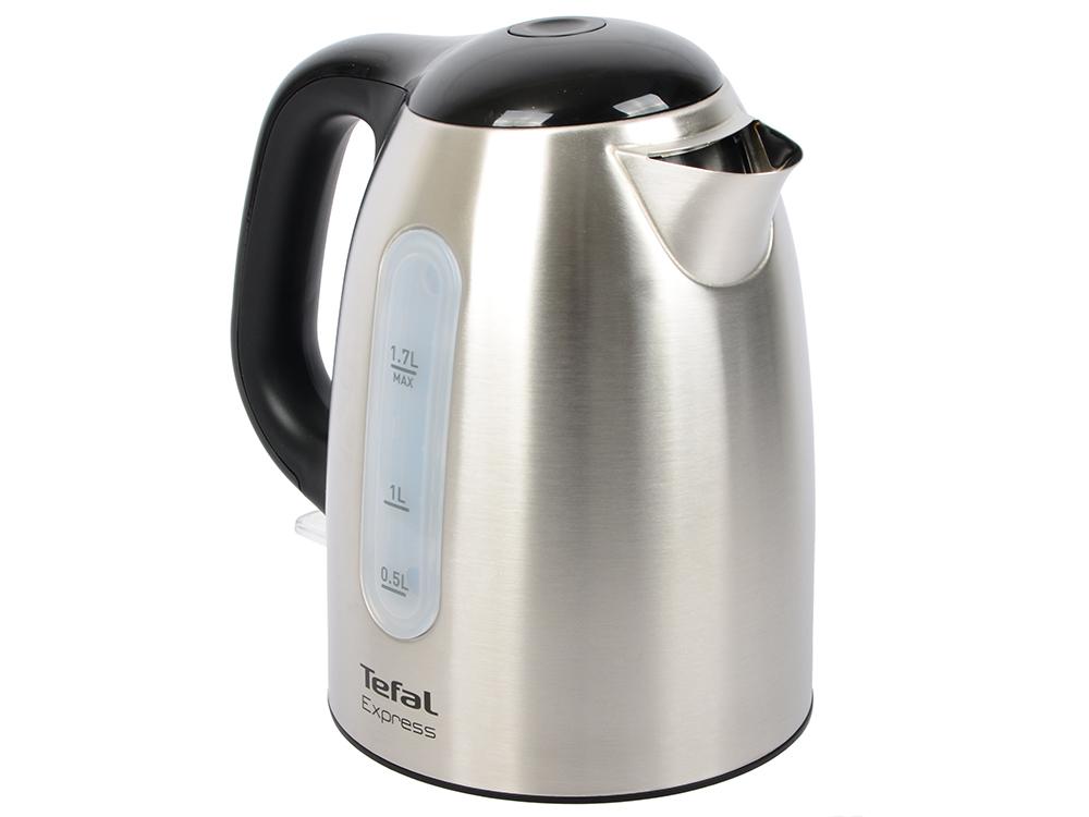 Чайник Tefal KI 230D30 2400 Вт 1.7 л металл серебристый цены онлайн