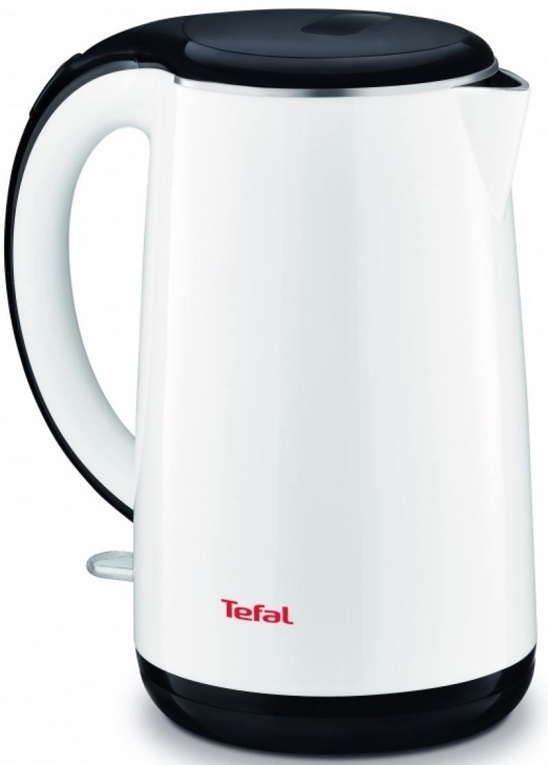 Чайник Tefal KO260130 2400 Вт белый 1.7 л металл/пластик миксер ручной tefal tefal ht300188 250 вт белый желтый