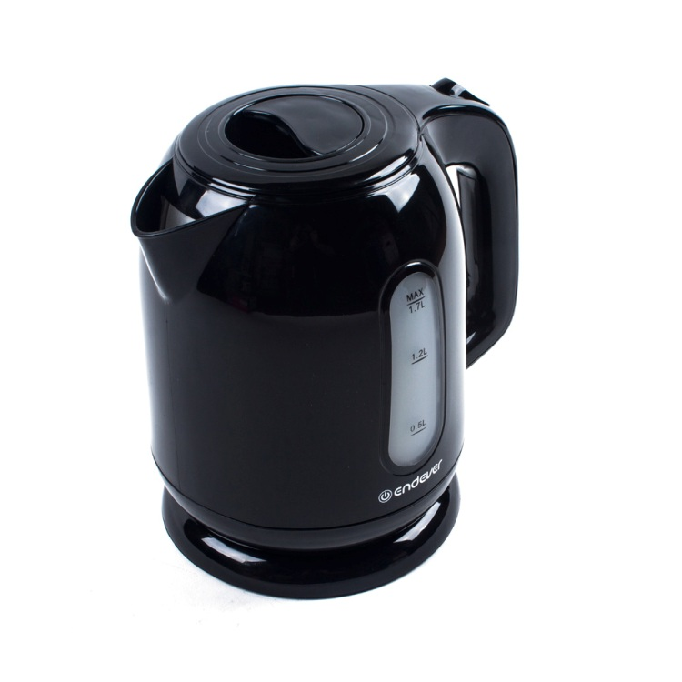 Чайник электрический Endever Skyline KR-223, черный