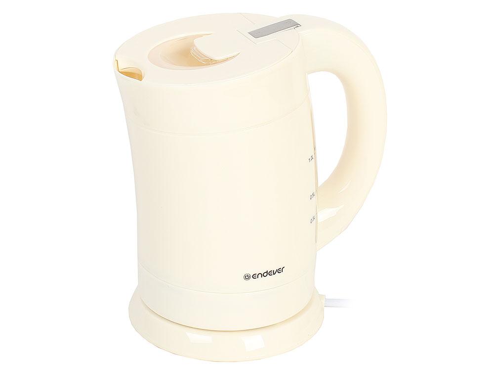 Чайник электрический Endever Skyline KR-355, белый
