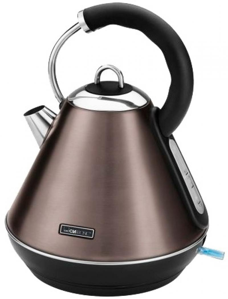 Чайник Clatronic WKS 3625 2200 Вт шампанское 1.8 л металл чайник clatronic wks 3576 2200 вт чёрный серебристый 1 5 л металл пластик