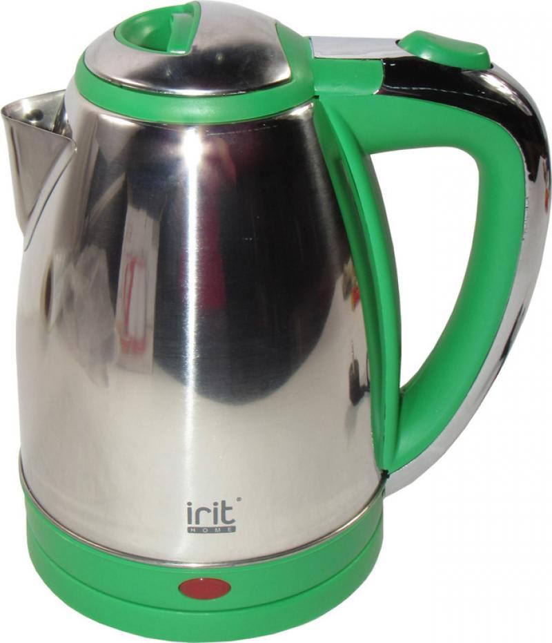 Чайник Irit IR-1314 1500 Вт зелёный 1.8 л нержавеющая сталь