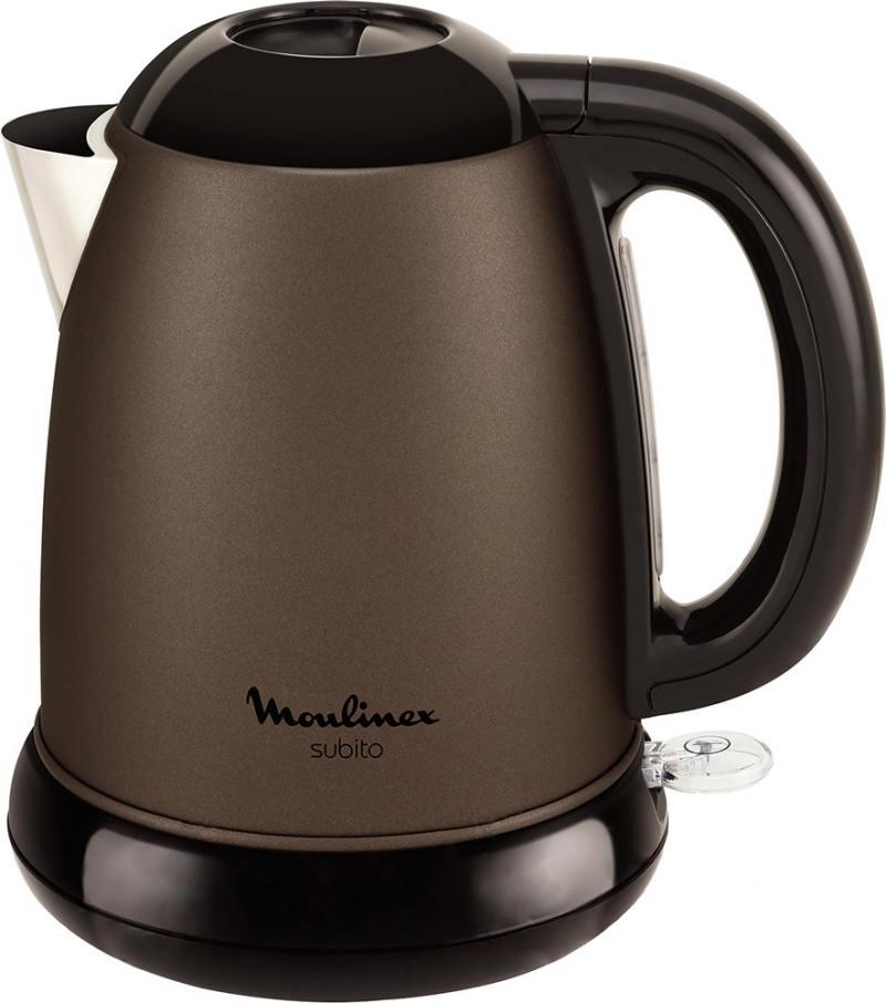 Чайник Moulinex BY540F30 2400 Вт коричневый 1.5 л металл 7211002509