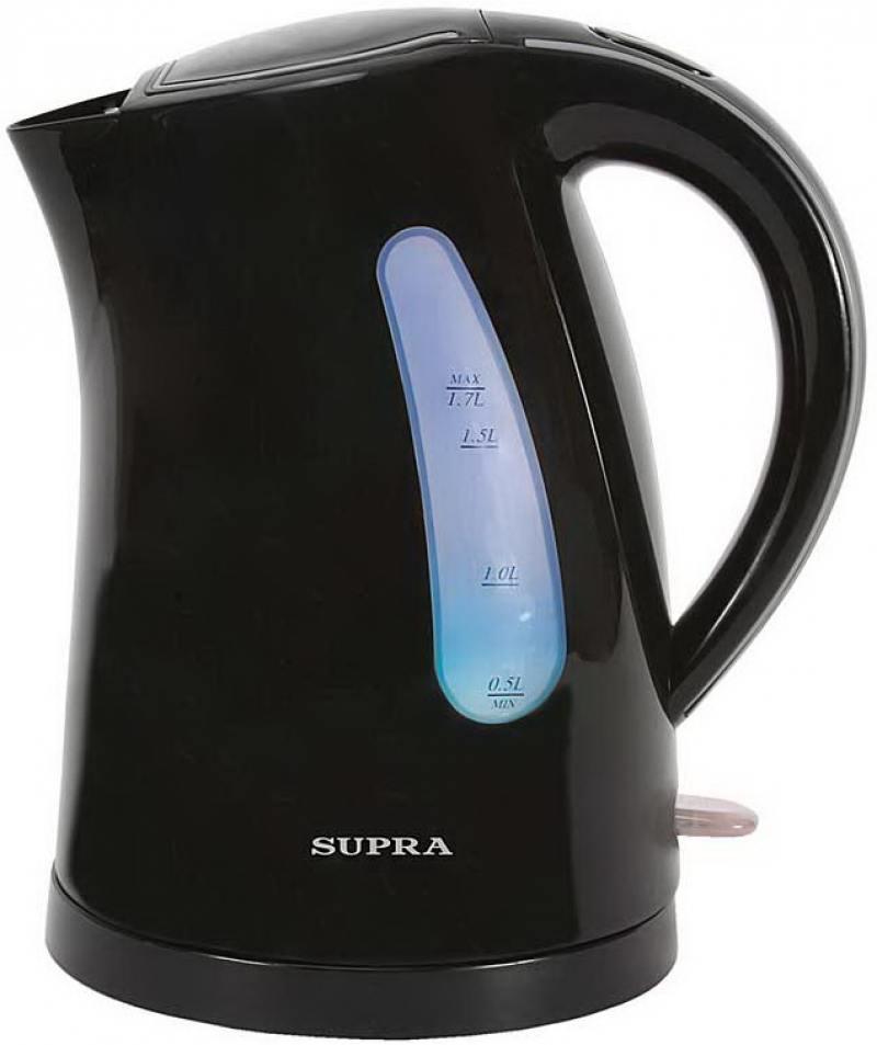 Чайник Supra KES-1721 2200 Вт 1.7 л пластик чёрный