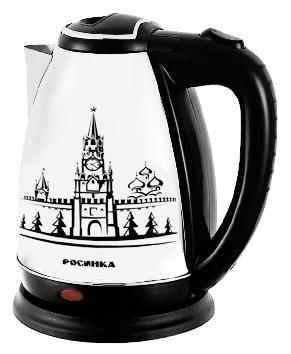 Чайник Росинка РОС-1004 2000 Вт чёрный 2 л нержавеющая сталь