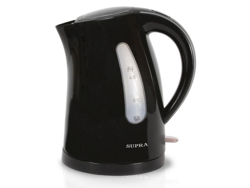 Чайник Supra KES-1721 2200Вт 1.7л пластик черный supra kes 1001 электрочайник