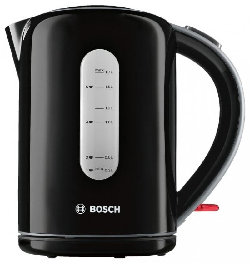 Чайник Bosch TWK7603 3000 Вт чёрный 1.7 л пластик bosch twk 7805