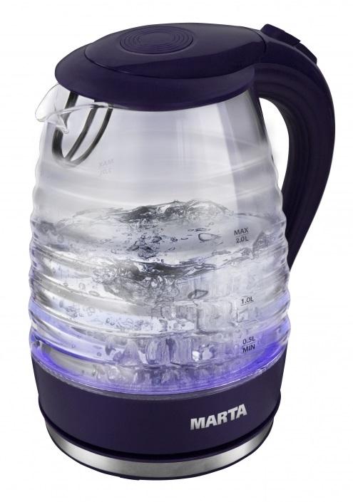 Чайник Marta MT-1084 темный топаз чайник marta mt 3043 шоколад
