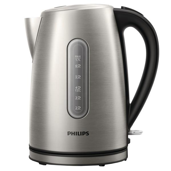 Чайник электрический Philips HD9327/10 серебристый 1.7л. 2200Вт нержавеющая сталь все цены