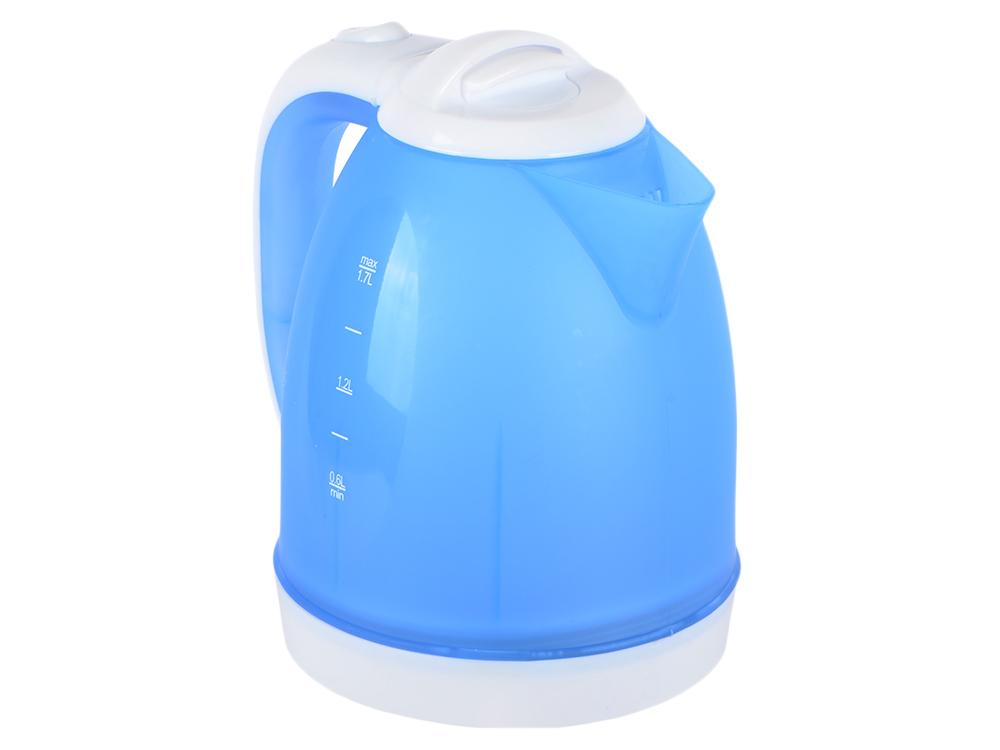Чайник BBK EK1755P белый/голубой