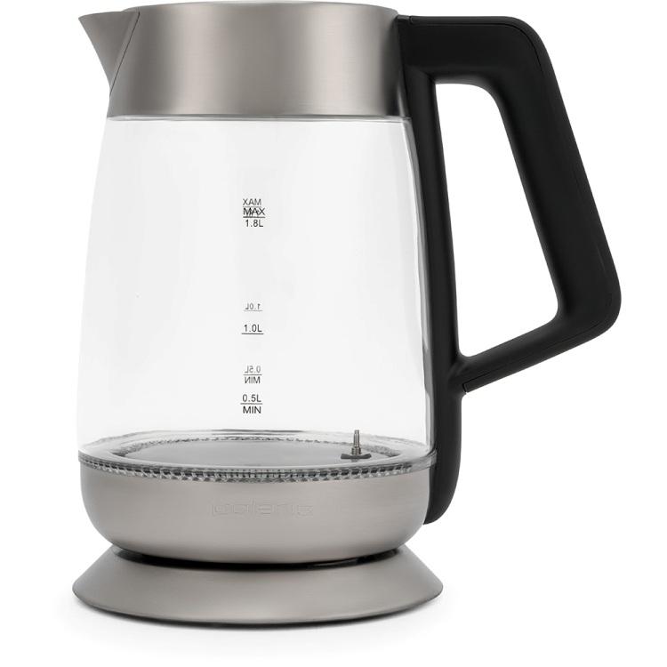 Чайник электрический Polaris PWK 1838CGLD Серебристый 2200Вт, 1.7л, стекло
