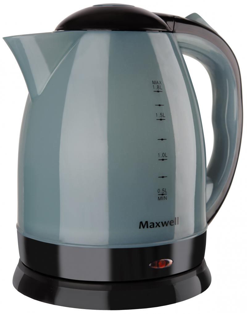 Чайник Maxwell MW-1063 B 1850 Вт чёрный 1.8 л пластик