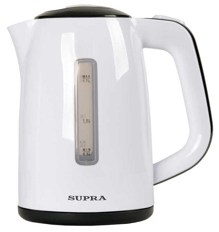 Чайники SUPRA KES-1728 white/grey чайник supra kes 1724 white grey