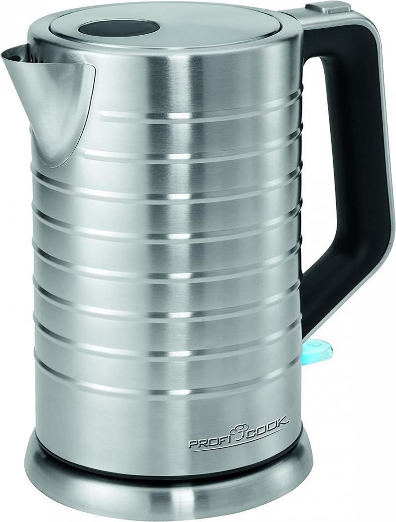 Чайник ProfiCook PC-WKS 1119 2200 Вт серебристый 1.7 л нержавеющая сталь